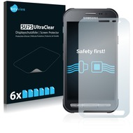 Twins 6x SU75 UltraClear Displayschutzfolie für Samsung Galaxy Xcover 3