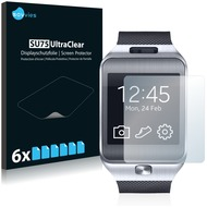 Twins 6x SU75 UltraClear Displayschutzfolie passend für Samsung Galaxy Gear 2 Neo SM-R381