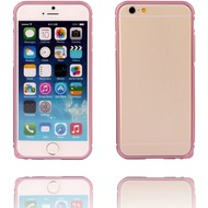 Twins Aluminium Bumper für iPhone 6, rose