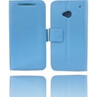 Twins BookFlip für HTC One (M7), blau