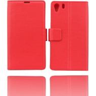 Twins BookFlip für Sony Xperia Z1, rot