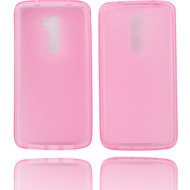 Twins Bright für LG G2, pink