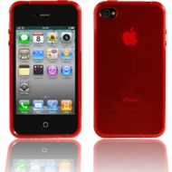 Twins Bright f�r iPhone 4, rot
