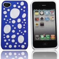 Twins Bubble Bath für iPhone 4/ 4S, blau-weiß