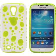 Twins Bubble Bath für Samsung Galaxy S4, weiß-grün