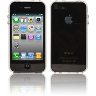 Twins Crystal Bumper f�r iPhone 4, klar