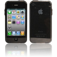 Twins Crystal Bumper f�r iPhone 4, schwarz
