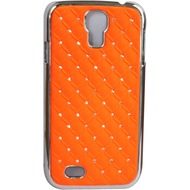 Twins BlingClip für Samsung Galaxy S4, orange