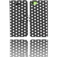 Twins DotFlip für iPhone 5C, schwarz-weiß