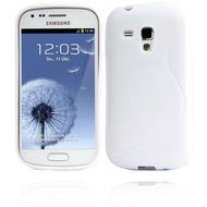 Twins Fancy Bright für Samsung Galaxy S3 mini, weiß