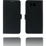 Twins Flip Case Softtouch für Galaxy Alpha,schwarz