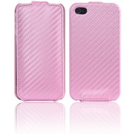 Twins Flip Carbon für iPhone 4/ 4S, pink