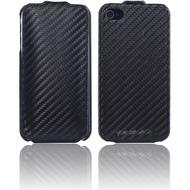 Twins Flip Carbon für iPhone 4/ 4S, schwarz
