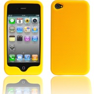 Twins Grip f�r iPhone 4, gelb