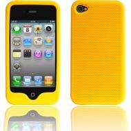 Twins Grip für iPhone 4, gelb