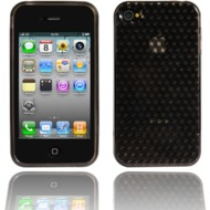 Twins Hexagon f�r iPhone 4, grau