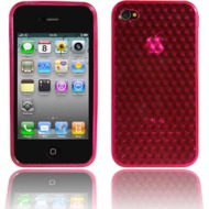 Twins Hexagon f�r iPhone 4, magenta