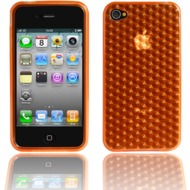 Twins Hexagon f�r iPhone 4, orange
