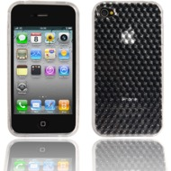Twins Hexagon f�r iPhone 4, transparent