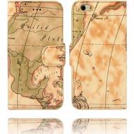 Twins Kunstleder Flip Case für iPone 6,Atlas,beige
