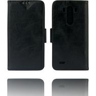 Twins Kunstleder Flip Case für LG G3, schwarz