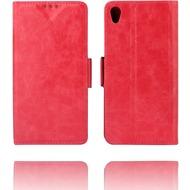 Twins Kunstleder Flip Case für Xperia Z3, rose