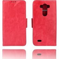 Twins Kunstleder Flip Case für LG G3, rose