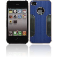 Twins Metal Guard für iPhone 4/ 4S, blau