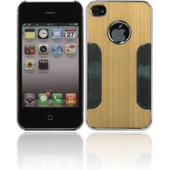 Twins Metal Guard f�r iPhone 4/ 4S, gelb