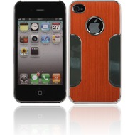 Twins Metal Guard für iPhone 4/ 4S, orange