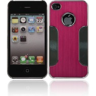 Twins Metal Guard für iPhone 4/ 4S, pink