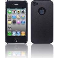 Twins Metallic für iPhone 4, schwarz