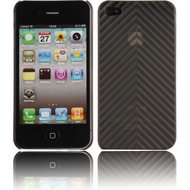 Twins Micro Arrow für iPhone 4, schwarz-transparent