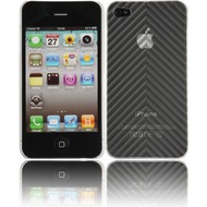 Twins Micro Arrow f�r iPhone 4, wei�-transparent