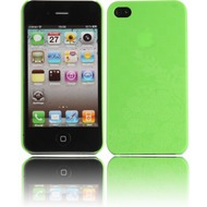 Twins Micro Flower f�r iPhone 4, gr�n