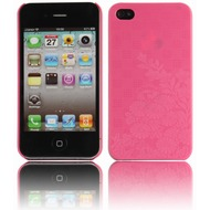 Twins Micro Flower f�r iPhone 4, pink