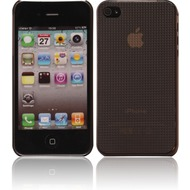 Twins Micro Diamond für iPhone 4/ 4S, schwarz