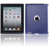 Twins Perforated Big für iPad 2, blau