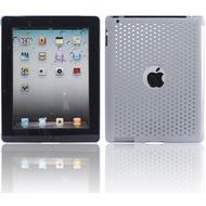 Twins Perforated Big für iPad 2, grau
