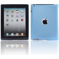 Twins Perforated Big für iPad 2, hellblau