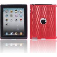 Twins Perforated Big für iPad 2, rot