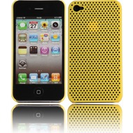 Twins Perforated Big f�r iPhone 4/ 4S, gelb
