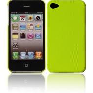 Twins Shield Mesh für iPhone 4/ 4S, neongelb