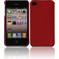 Twins Shield Mesh für iPhone 4/ 4S, rot