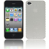 Twins Perforated White für iPhone 4