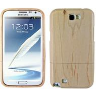 Twins Real Wood für Samsung Galaxy Note 2, hellbraun