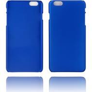 Twins Rubber oil finished Case für iPhone 6 Plus blau Matt
