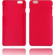 Twins Rubber oil finished Case für iPhone 6 Plus Matt rose