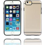 Twins Shield Akzent - Schutzhülle für iPhone 6 Plus, transparent/ schwarz