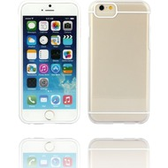 Twins Shield Akzent - Schutzhülle für iPhone 6 Plus, transparent/ weiß